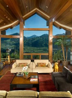 Gorgeous mountaintop home with captivating views over Aspen