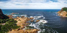 Knysna Heads looking Seaward / Clickasnap Knysna, South Africa, Landscape, Water, Garden, Outdoor, Water Water, Aqua, Garten