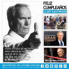Sobran las palabras. El Maestro #ClintEastwood cumple 85 años.
