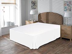 "Royal Beddings 800TC 3pc Bedskirt 24"" Drop length 100% Eg... https://www.amazon.com/dp/B01B48WTZ0/ref=cm_sw_r_pi_dp_x_MZ-aybRTAH5XM"