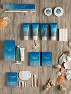 JEAN MICHEL COUSTEAU HOTEL AMENITIES.