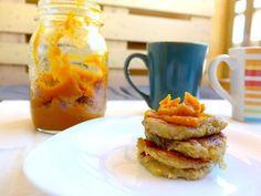 Já imaginou panquecas de batata doce? São possivelmente das melhores panquecas que vai provar