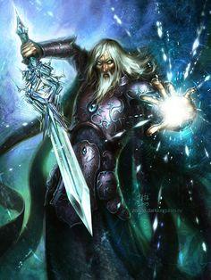 Ice Wizard by kir-tat.deviantart.com on @deviantART
