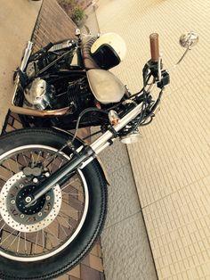 Kawasaki 250TR by JET CUSTOM CYCLES