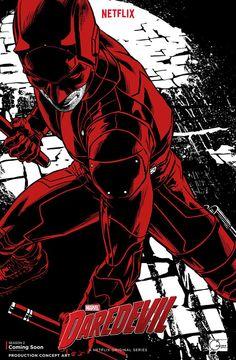 Daredevil 2: ecco il concept del poster ufficiale