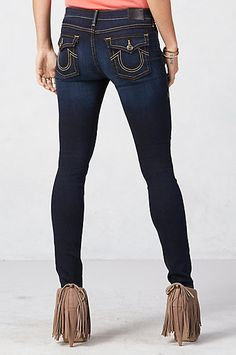 ca3086475 HALLE SUPER SKINNY WOMENS JEAN - True Religion size 25 Trendy Dresses