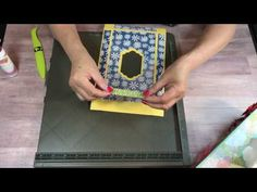 Stampin' Up! Rectangle Tissue Box Cover - YouTube