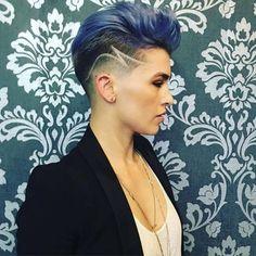WOW!! 10 sehr gewagte und extrem kurze Frisuren! Diese Frauen beweisen, wie unglaublich schön sie wirken können! - Seite 8 von 10 - Neue Frisur
