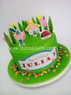 Dulce Silvita: Tarta Ben & Holly para Julia