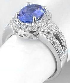 Tanzanite and Diamond Rings (GR-7058)
