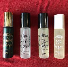 ❤️❤️ #joyastudio #newyork #nyc #perfumes #rollonperfume • #foxglove : orange, grass, hyacinth, jasmine, camellia, jonquille, oak, cedar & musk • #compositionno6 : cypress, berries, yuzu, lotus, meadowgrass, cedarwood, saffron & amber • #amessoeurs : tamarind, grapefruit, cypress, rose, ginger, orange, cedarwood, incense, amber & musk • #compositionno1 : citrus, mandarin, orange, quince, tuberose, jasmine, camellia, rose, sandalwood, musk & tonka bean  #rosinaperfumery #giannitsopoulou6 #glyf