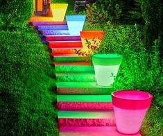 Light Up Planters