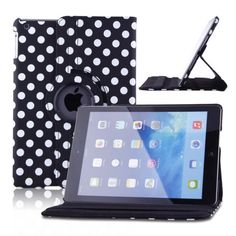360 Rotating Magnetic PU Leather Case Smart Cover w/Stand for Apple iPad Air 5th