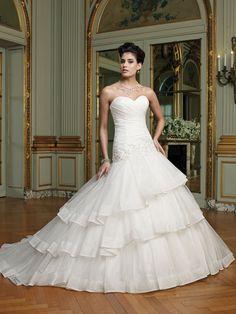 david tutera wedding dresses   Wedding-dress-david-tutera-fall-2012-mon-cheri-bridal-gown-casey ...