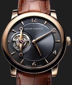 David Yurman Ancestrale Tourbillon Watch - Elegant Complication Watches Channel