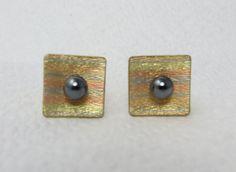 Vintage Cufflinks Signed Theda 12k Gold Filled by LadyandLibrarian, $56.00 #vintage #cufflinks #ladyandlibrarian