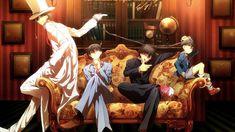 Detective Conan (April Fools) by MeitanteiKoy on DeviantArt - kaito kid Magic Kaito, Chica Anime Manga, Anime Guys, Anime Art, Detective Conan Shinichi, Kaito Kuroba, Detective Conan Wallpapers, Kaito Kid, Detektif Conan