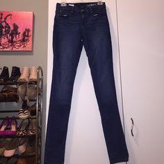 GAP 1969 Dark Blue Legging Jeans Dark blue legging jeans. Stretchy! Great condition. GAP Jeans Skinny