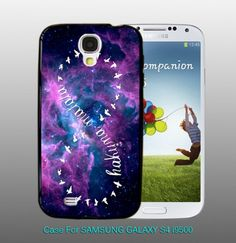 Infinity Hakuna Matata Galaxy , For Samsung S4 i9500 Black Case
