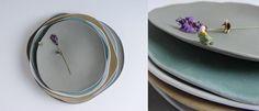 Porcelain plates.