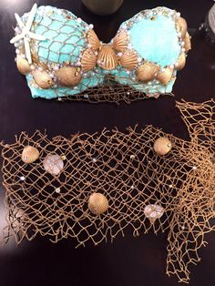 Extra Netting to use on top of a mermaid von Bellsuniquecreations