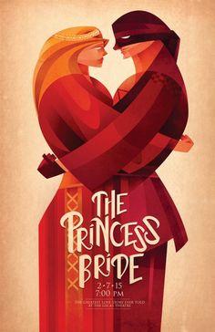 The Princess Bride by Sean Loose Illustration on The Bazaar