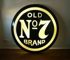 Leuchtreklame Neonschild Werbeschild Jack Daniels 120cm Vintage in Frankfurt (Main) - Dornbusch | Lampen gebraucht kaufen | eBay Kleinanzeigen