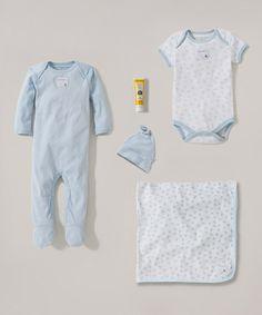 Sky Honeybee Organic Bodysuit Set - Infant #zulily #zulilyfinds