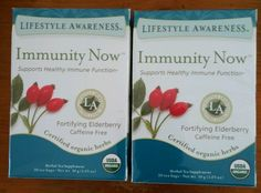 Immediately Now Tadin Lot of two   Lifestyle Awareness Tea Organic 20 BAGS each  #TadinLifestyleAwareness