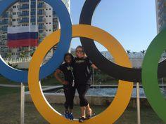 Simone and Aimee  #Riobound