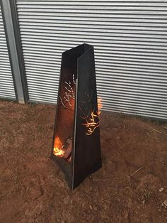 This fire pit is made from 3mm corten weathering steel which means it will rust to a beautiful patina and stay that way! It will never rust away. If you like this exact fire pit, great! If you would like a different picture or text wrapped around, not a problem! Or a totally