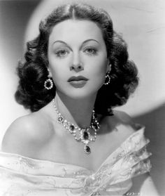 Hedy Lamarr, one of the most beautiful actresses in the history of cinema