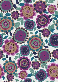 Genine Delahaye — Moyo Directory #floral #girlswear #autumn