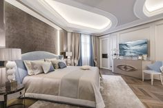 Elegant and Sumptuous Apartament in the French Riviera Designed by NG Studio