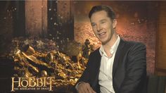 Benedict Cumberbatch - The Hobbit: The Desolation of Smaug Interview HD