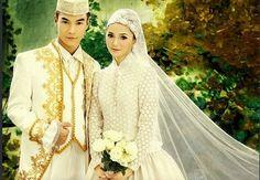 32 Best Muslimah Wedding Dress Images On Pinterest Muslimah