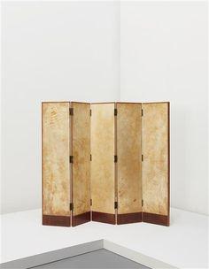 PHILLIPS : Design, JEAN-MICHEL FRANK, Five-panel screen
