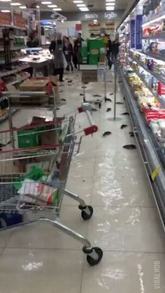 """Click to see Gif """"CLEAN UP ON AISLE 6"""" on Funny Goblin, the best creative humor community to search and share your favorite funny pictures, memes, gifs, jokes, humour pics, videos on internet."""