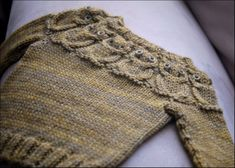 Iniration: Owlet sweater. Too bad the pattern isn't free.