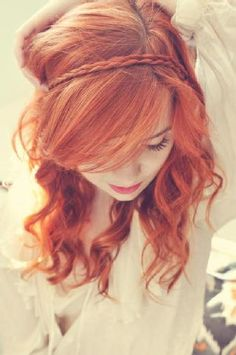 Gorgeous...this is the exact shade I want my hair to be!!!