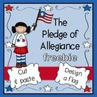 """Literature: """"I Pledge Allegiance"""" by: Pat Mora & Libby Martinez Standards: Nations are represented by symbols and practices. Symbols and practices of the United States include the American flag, Pledge of Allegiance and the National Anthem. Kindergarten Social Studies, Social Studies Activities, Teaching Social Studies, Kindergarten Activities, Citizenship Activities, Kindergarten Freebies, Preschool Songs, Kindergarten Writing, Class Activities"""