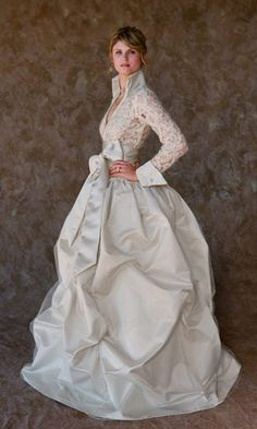 They no longer make this dress, and it's WAY outside any budget we'd have... but a girl can dream. And this is my dream dress :)