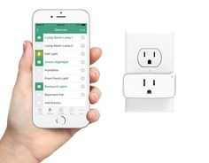The iHome Control Smart Plug lets you control your electronics with Siri ($37 each). | 17 Clever iPhone Accessories You Didn't Know You Needed