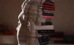 Dissections and Excavations in Book Art. Awesome.  Watch a video and see the work of a group of artists who sculpt, scrape, bend and carve to create astonishing compositions using books