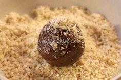 Τρουφάκια με τσουρέκι ⋆ Cook Eat Up! Pudding, Cookies, Chocolate, Desserts, Food, Crack Crackers, Tailgate Desserts, Deserts, Chocolates