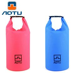 AOTU Portable Suaoki waterproof bag 10L Storage Dry Bag for Rafting Outdoor Camping Travel Kit Equipment with Shoulder Strap
