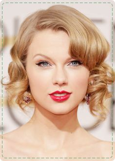 taylor swift wavy bob - Google Search