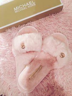 MK furry slides  Follow Chanel Monroe  for more top notch  on Pinterest