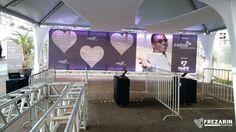 Show exclusivo de Jorge Ben Jor para a Promoção Dia das Mães do Shopping Catuaí no dia 11/05. Frezarin Eventos forneceu a solução de TI usada para automatizar a leitura dos ingressos. Agência: Atmosfera Eventos