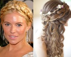 This is probably the most charming of all fairy like wedding hairstyles. Description from thebridehairstyles.com. I searched for this on bing.com/images